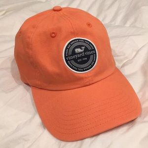 Vineyard Vines Orange Adjustable Hat Cap